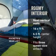Skydome tent interior with sleeping bags image number 2
