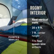 Skydome tent interior displaying gear loft image number 2