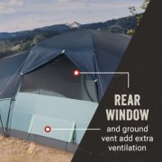 rear window and ground vent for ventilation image number 4