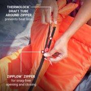 Kompact™ 40°F Rectangle Sleeping Bag image number 3