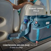 robust zipper pulls compression molded base is easy to clean image number 4