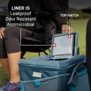 soft cooler has leak proof liner odor resistant and antimicrobial image number 5