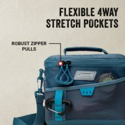 soft cooler is flexible 4 way with stretch pockets image number 3