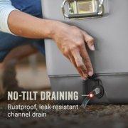 steel belted cooler has no tilt draining image number 3