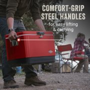 comfort grip steel handles for easy lifting and carrying image number 2