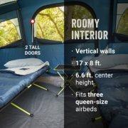 Sunlodge tent interior blue night image number 2
