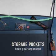 sun lodge tent has storage pockets to keep gear organized image number 5