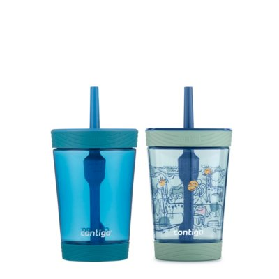 Kids Spill-Proof Tumbler with Straw, 14oz, 2-pack