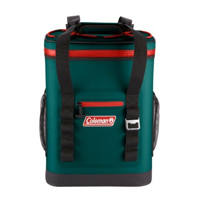 24-Can High-Performance Leak-Proof Soft Cooler Backpack, Evergreen