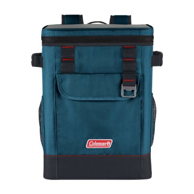 28-Can Portable Soft Cooler Backpack, Space Blue