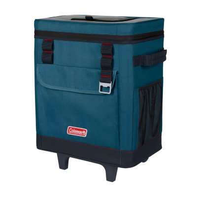 42-Can Soft Cooler with Wheels, Space Blue