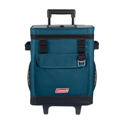 42-Can Soft Cooler with Wheels, Space Blue`
