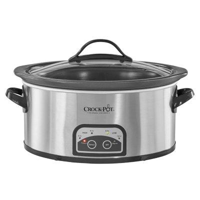 Crockpot™ 6-Quart Smart-Pot® Programmable Slow Cooker w/ Easy Clean, Stainless Steel