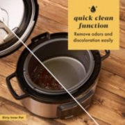 quick clean function remove odors and discoloration easily image number 2