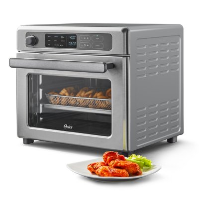 Oster® Digital RapidCrisp™ Air Fryer Oven, 9-Function Countertop Oven with Convection