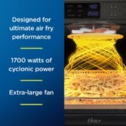 Oster® Digital RapidCrisp™ Air Fryer Oven, 9-Function Countertop Oven with Convection image number 2