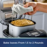 Stainless steel bread maker in use image number 5