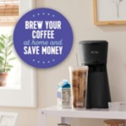 Mr. Coffee® Iced™ Coffee Maker with Reusable Tumbler, Stainless Steel Straws, and Gold-Tone Coffee Filter image number 3