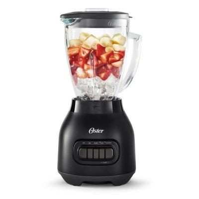 Oster® Easy-to-Clean Smoothie Blender with Dishwasher-Safe Glass Jar, Black