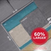 60 percent larger than standard size sunbeam heating pads image number 2