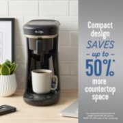 Mr. Coffee® Pod + 10-Cup Space-Saving Combo Brewer image number 2