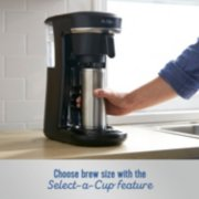 Mr. Coffee® Pod + 10-Cup Space-Saving Combo Brewer image number 3