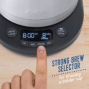 Mr. Coffee® Pod + 10-Cup Space-Saving Combo Brewer image number 4