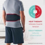 Hot + Cold Therapy Back Wrap image number 2