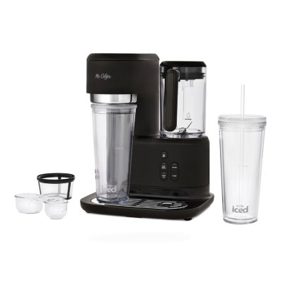 Mr. Coffee® Single-Serve Frappe™, Iced, and Hot Coffee Maker and Blender