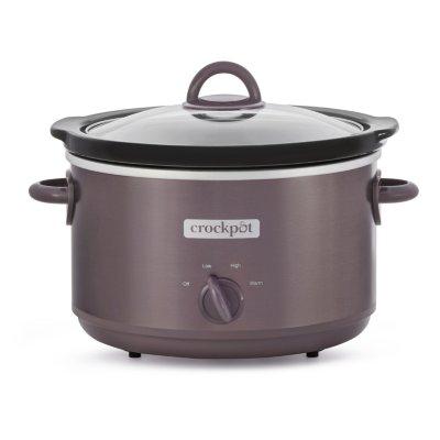Crockpot™ Design Series 4.5-Quart Manual Slow Cooker, Café Mocha