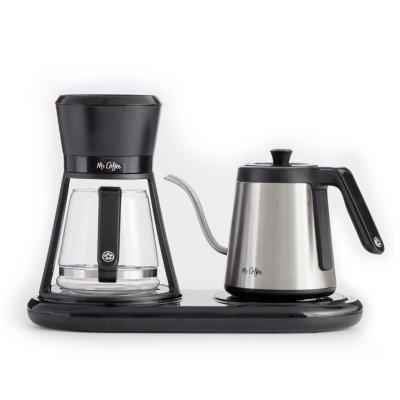 Mr. Coffee® At-Home Pour Over Brewer and Kettle