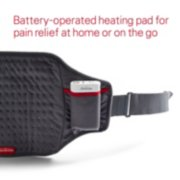 battery operated heating pad for pain relief at home or on the go image number 2