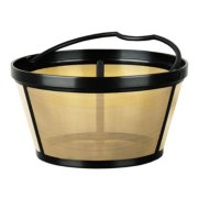 Mr. Coffee® 12 Cup Reusable Gold Tone Coffee Filter image number 0