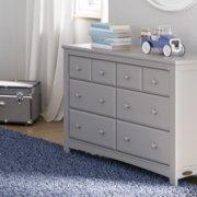 benton dresser in pebble gray in nursery image number 3