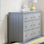 hadley 6 drawer dresser in nursery image number 5