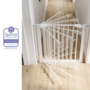 baby steps premium walk thru safety gate JPMA certified tested and trusted image number 2