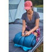 compact sleeping bag setup inside tent image number 7