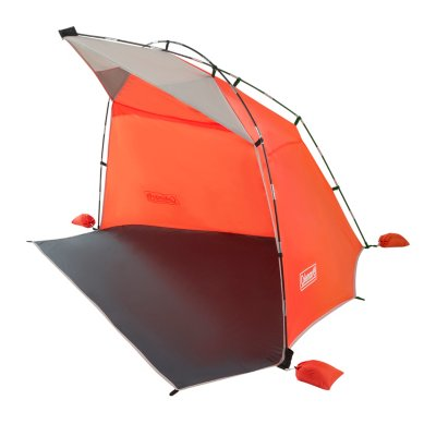 Skyshade Compact Large Portable Beach Shade, Tiger Lily