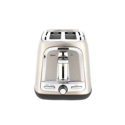 Oster® 2-Slice Toaster with Advanced Toast Technology, Stainless Steel