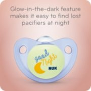 Cute-as-a-Button Glow-in-the-Dark Orthodontic Pacifiers image number 3