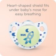 Cute-as-a-Button Glow-in-the-Dark Orthodontic Pacifiers image number 5
