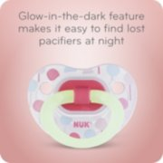 Glow-in-the-Dark Orthodontic Pacifiers image number 3