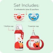 Sesame Street Cup and Pacifier Transition Set image number 1