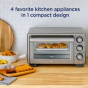 Oster® Compact Countertop Oven With Air Fryer, Stainless Steel image number 2