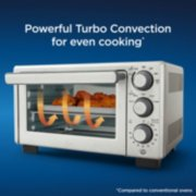 Oster® Compact Countertop Oven With Air Fryer, Stainless Steel image number 4