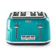 4 slice toaster in teal image number 0