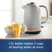 Oster® Electric Kettle, Metropolitan Collection with Rose Gold Accents  image number 1