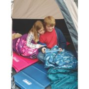 kid's self inflating camping pads and sleeping bags image number 1