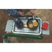 2 burner propane stove with cooking parts & accessories image number 5