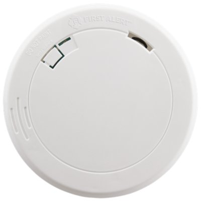 Slim Battery-Operated Photoelectric Smoke Alarm